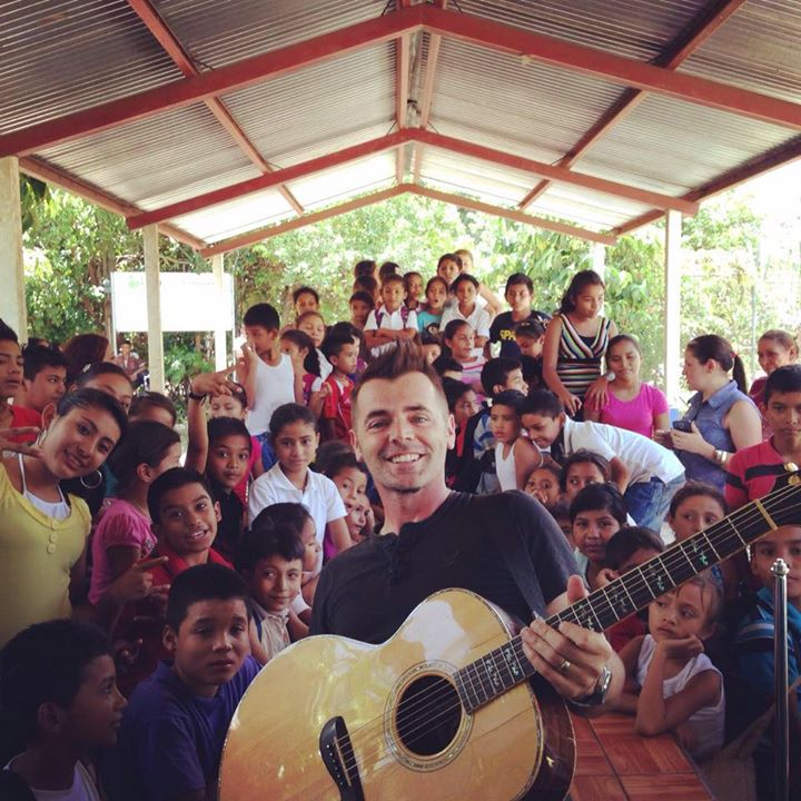 Bryan on a recent trip to Nicaragua with Food for the Hungry.