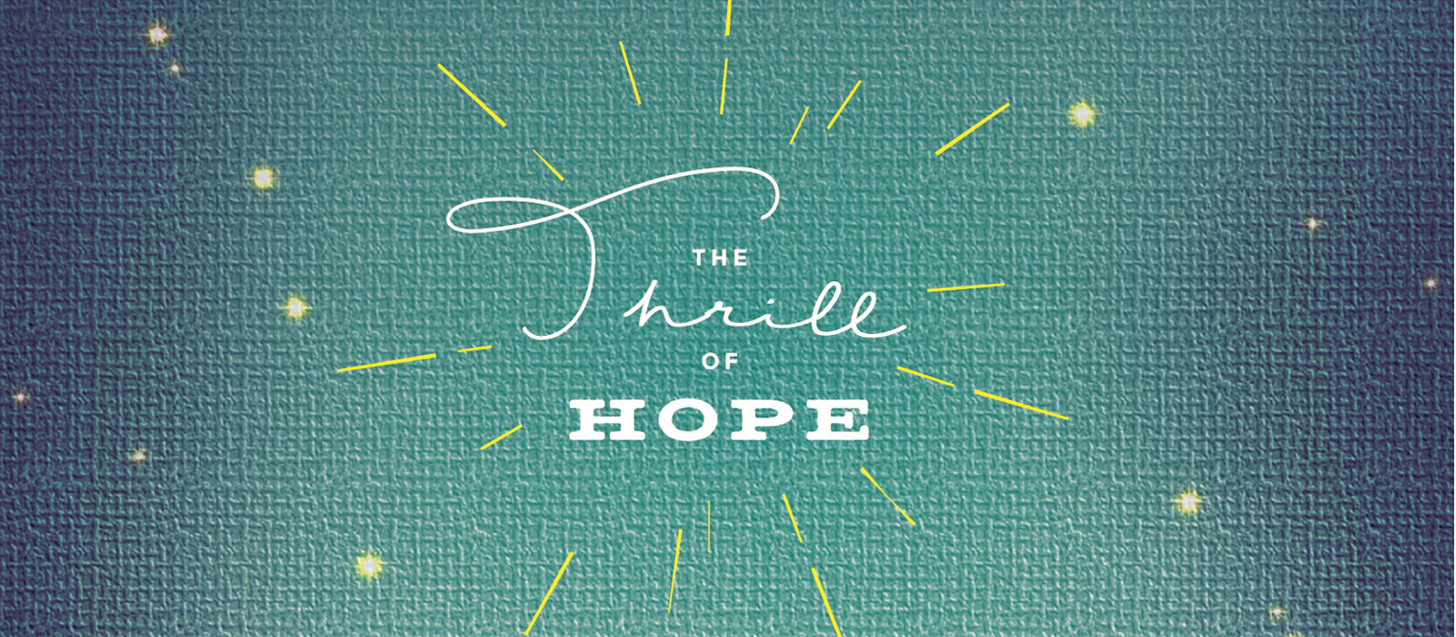 Talk It Over – The Thrill of Hope, Pt. 3
