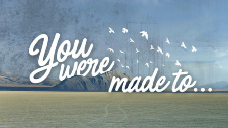 You Were Made To...